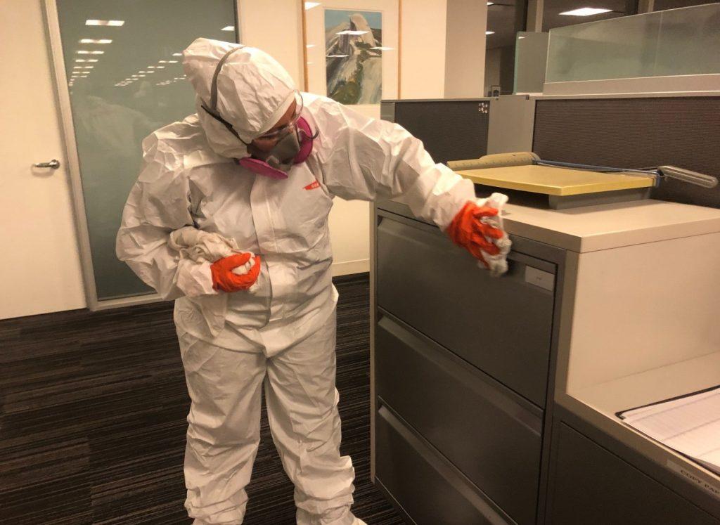 Desinfección en los negocios